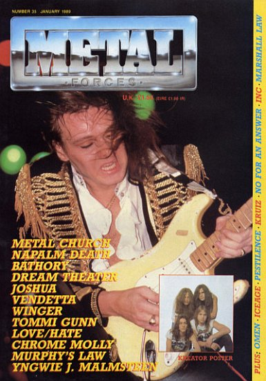 Back To Metal Forces Magazine Covers Gallery