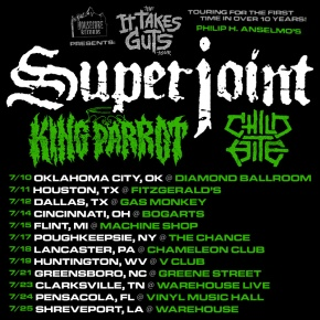 Philip H Anselmo S Superjoint To Embark On Us Tour In